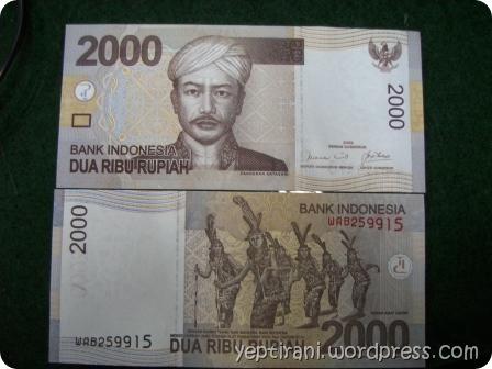 uang dua ribu