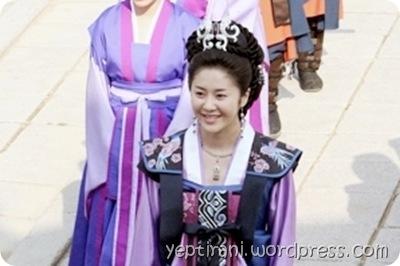 Mi Shil, tokoh sentral dalam drama Korea The Great Queen Seon Deok
