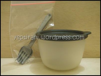 Twin Tullipware Soup Bowl