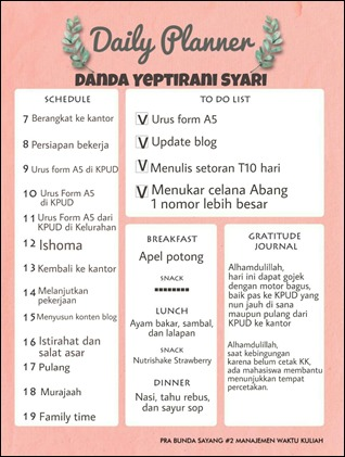 Yeptirani Syari_Daily Planner_NHW#2PraBunSay